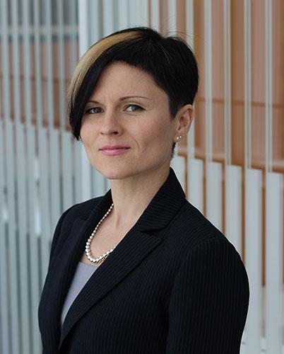Lina Axanova, Ph.D. headshot