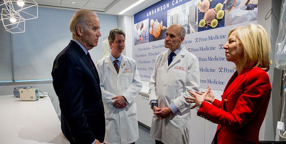 President Biden visits Penn Medicine